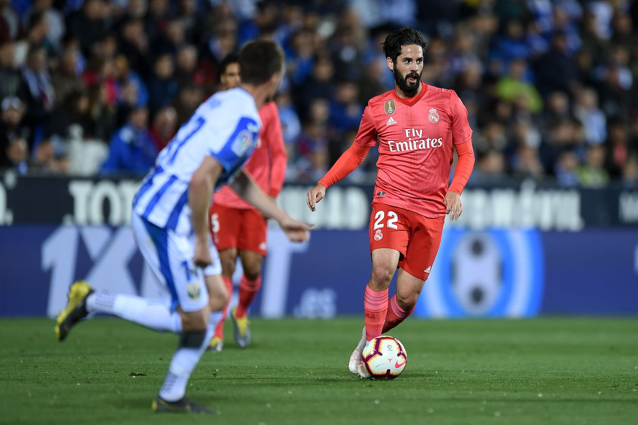 Think twice before giving Isco the boot