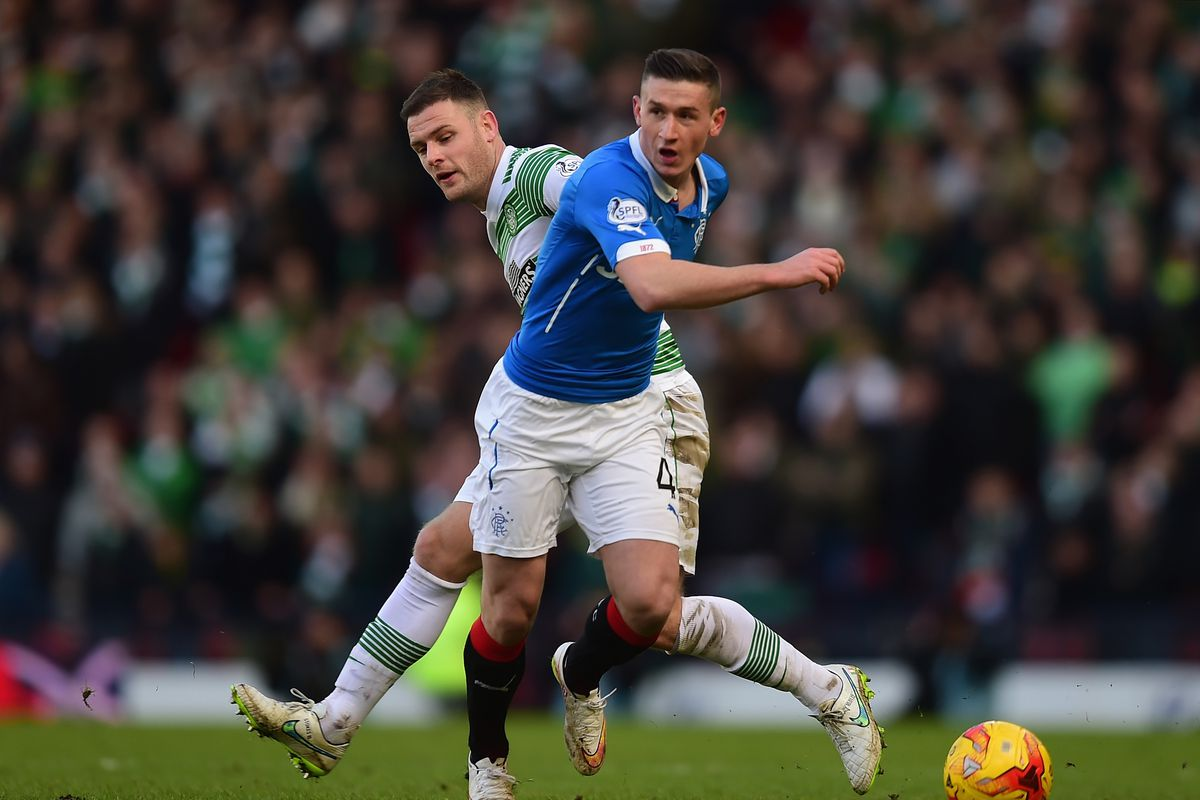 Celtic v Rangers - Scottish League Cup Semi-Final