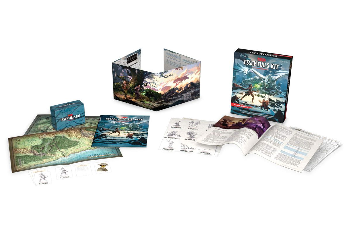 Dungeons & Dragons Essentials Kit is finally on sale at