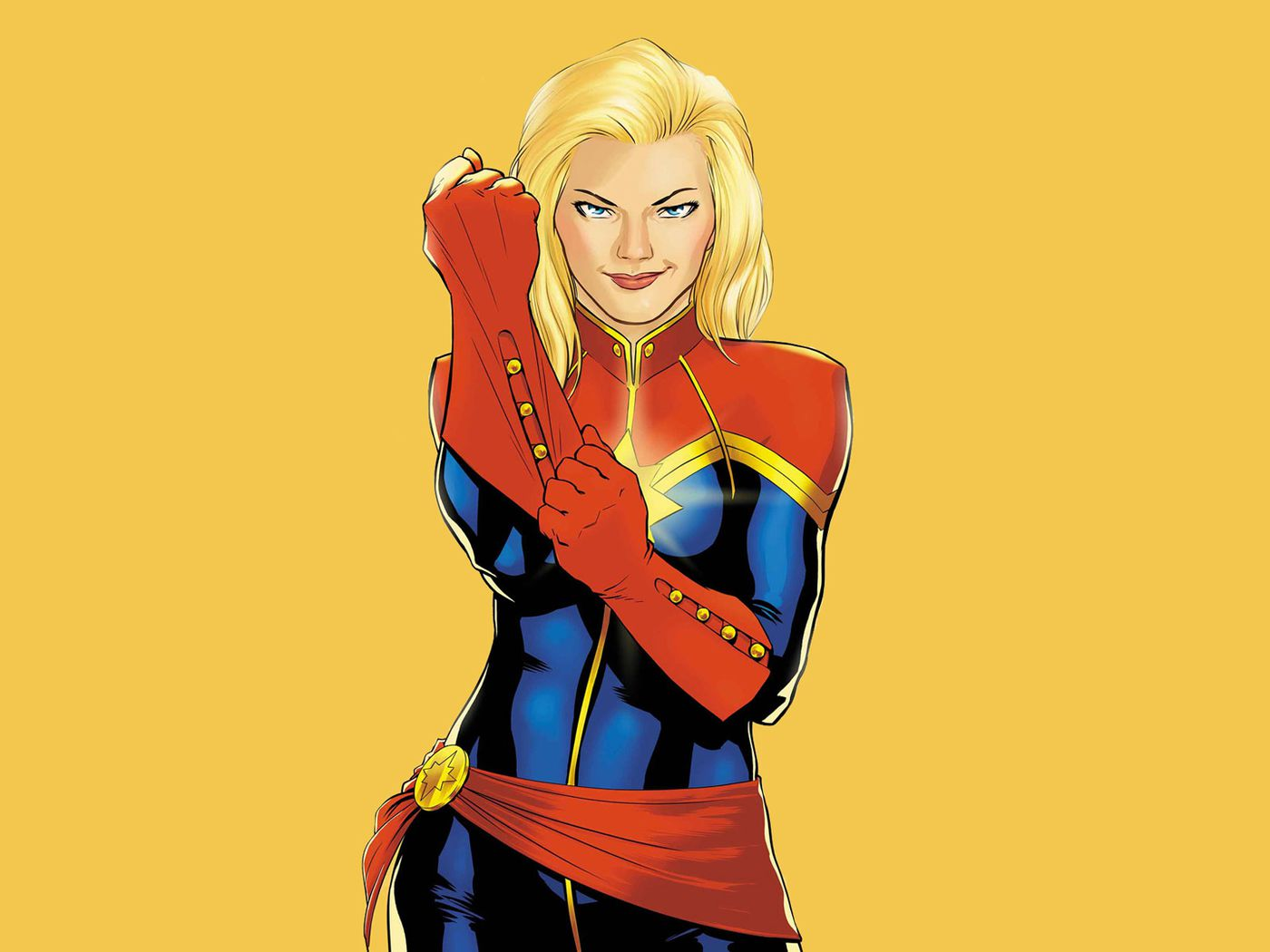 Brie Larson S Captain Marvel Costume Revealed In First Look Photos Polygon Black panther costume royal blue gown gemma chan valentino gowns gown photos red carpet gowns marvel women super hero costumes captain marvel. brie larson s captain marvel costume