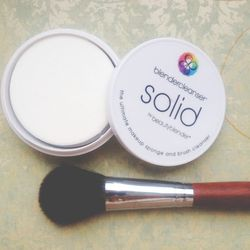 Every week I clean my make-up brushes. The 15+ year make-up artist in me doesn't allow a week to go by without cleaning all of my brushes. For years I have looked high and low for the best and easiest way to do this mass cleaning and to be honest, it was