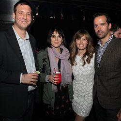 Former Curbed NY editor Joey Arak, Eater editorial director Amanda Kludt, Racked LA editor Leslie Price, and Michael Tavani