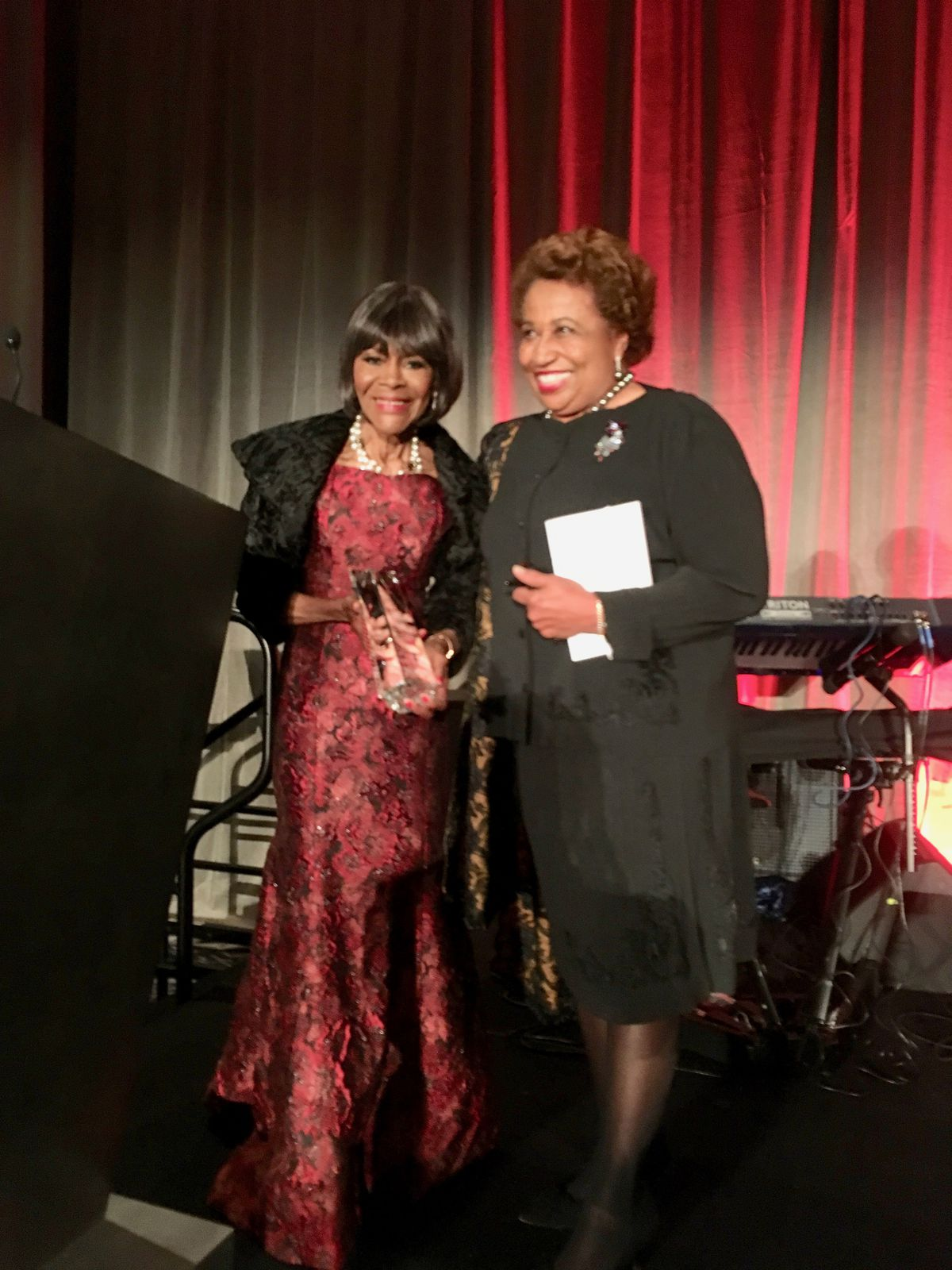 When the legendary actress Cicely Tyson headlined the DuSable Museum of African American History's Annual Night of 100 Stars Gala in Chicago on Oct. 12, 2018, she was introduced by former U.S. Sen. Carol Moseley Braun.