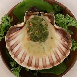 Isle of Mull scallop with dulse