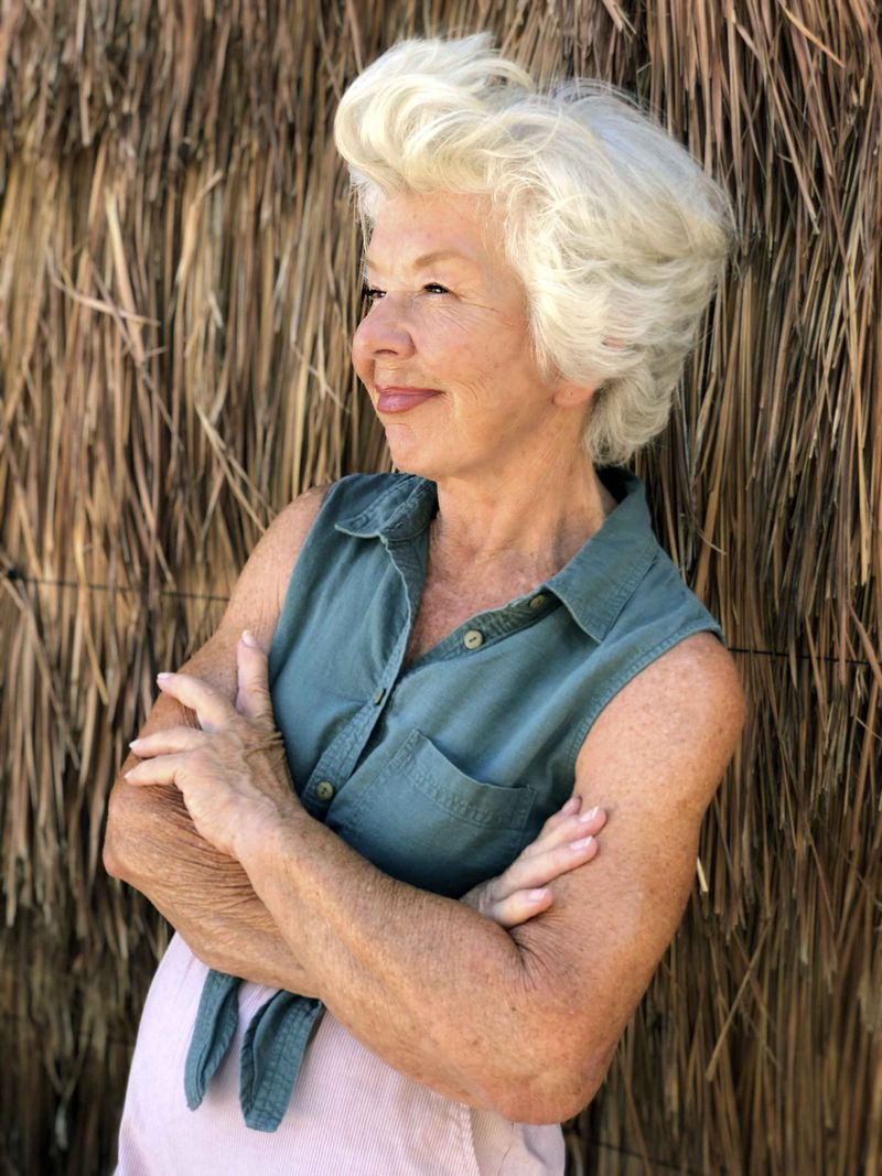This photo shows Joan MacDonald, 75, in Tulum, Mexico, in 2020.