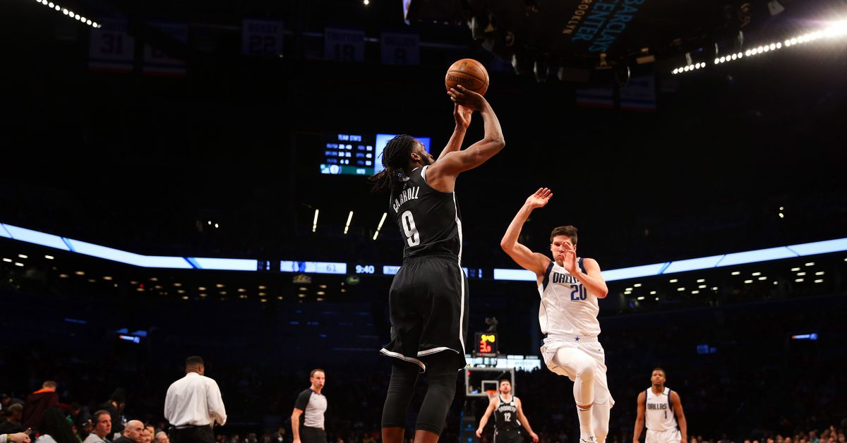 nets squeeze out victory against dallas on st paddy s day. Black Bedroom Furniture Sets. Home Design Ideas