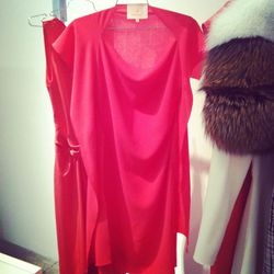 We want to live in this raspberry-hued frock by Roksanda Ilincic.