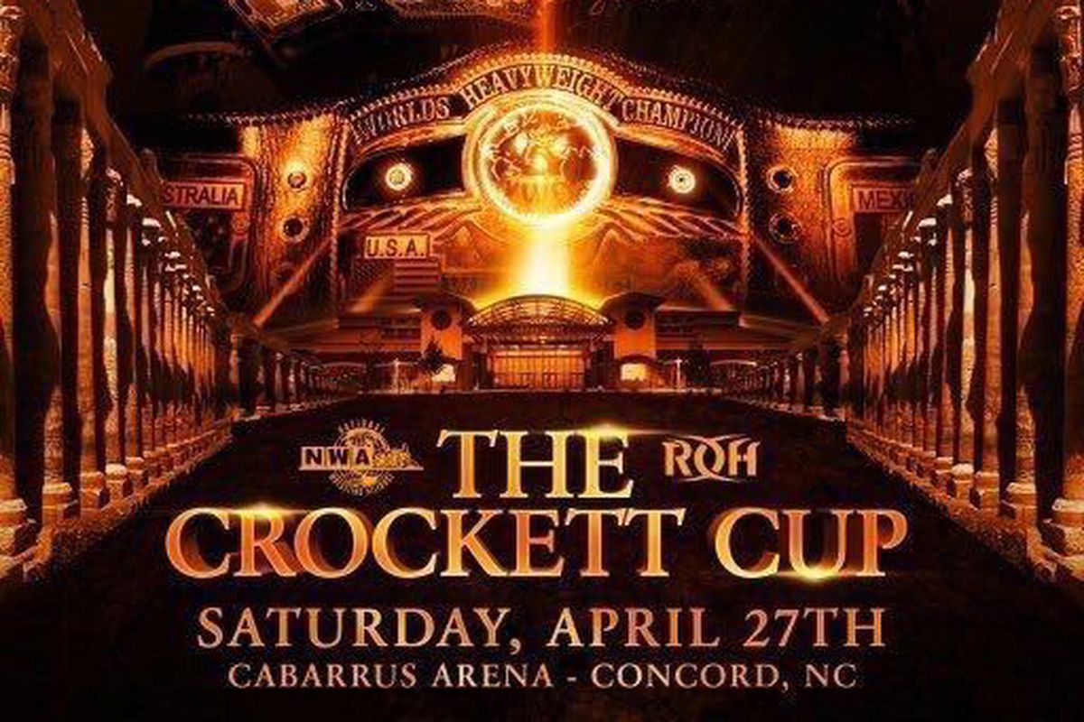 Image result for NWA ROH The Crockett Cup 2019
