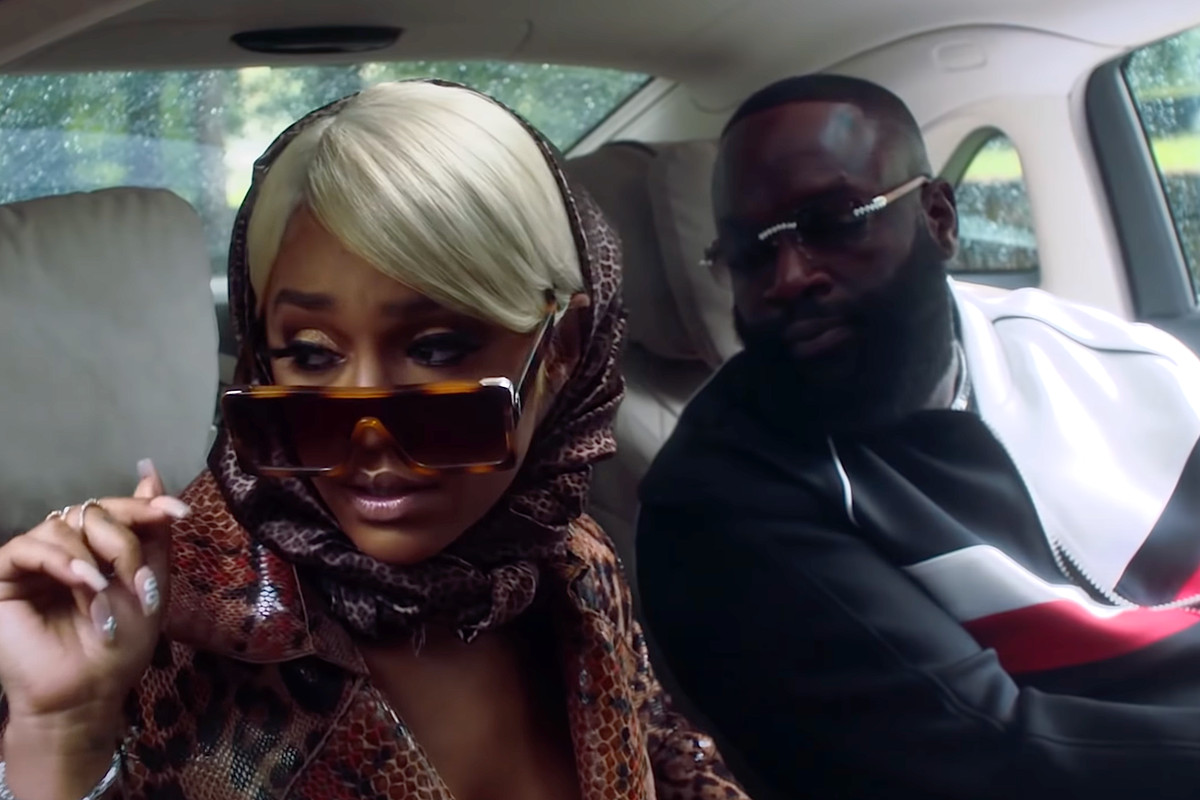 Paloma Ford and Rick Ross