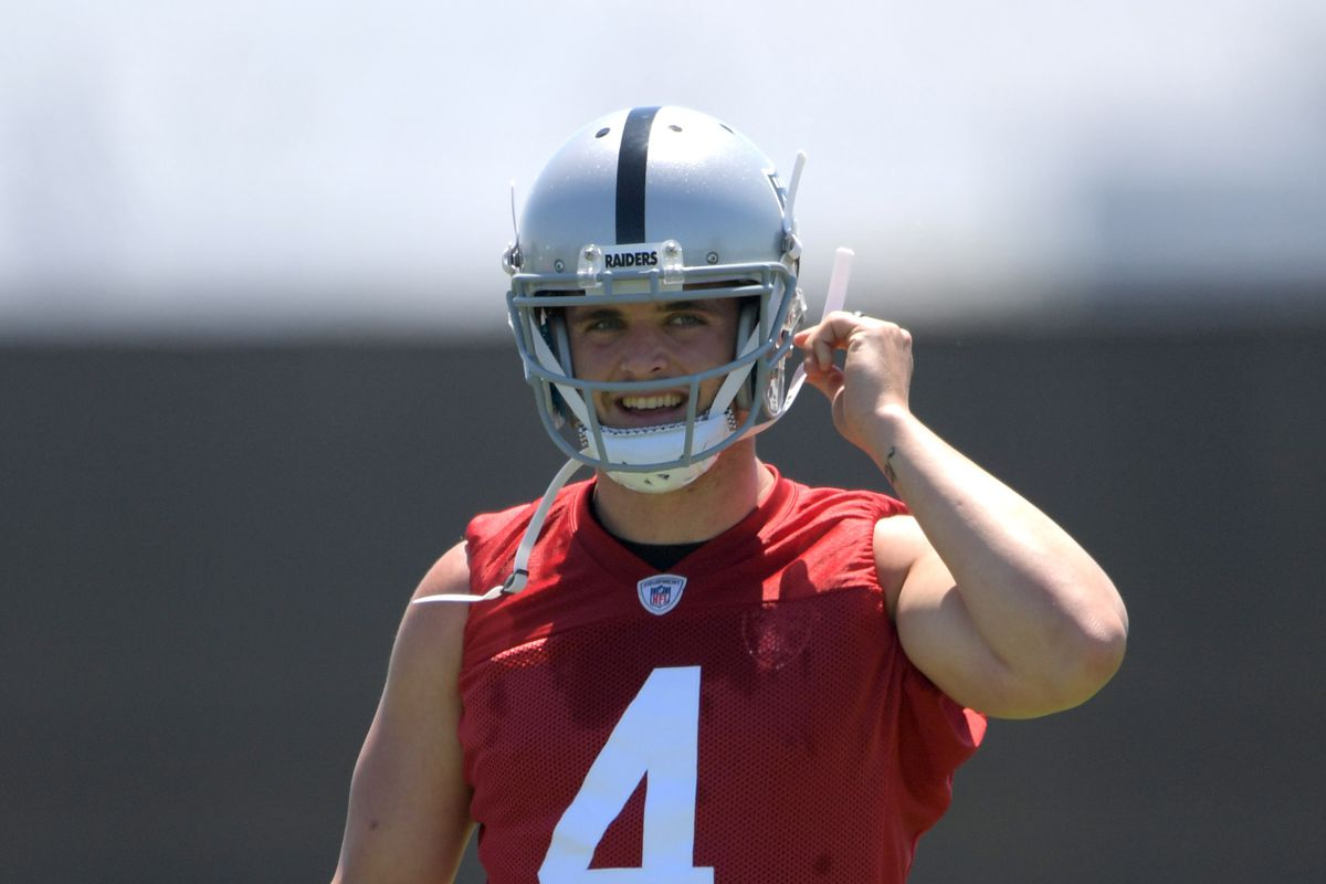 Raiders Ravens injury report Derek Carr returns very ahead of