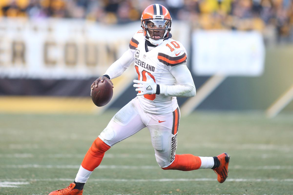 Ravens announce signing of QB Robert Griffin III