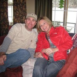 FILE - This undated file photo provided by Ruby Rawson shows Jacque Sue Waller, right, and her husband Clay Waller. Clay Waller, 41, was charged with first-degree murder in the death of Jacque on Monday, April 23, 2012, even though his estranged wife's body has not been found.