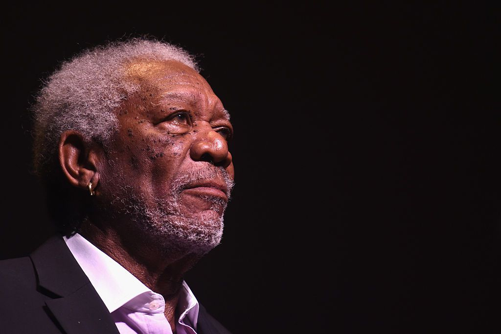 NEW YORK, NY - APRIL 25: Actor Morgan Freeman speaks at the 43rd Chaplin Award Gala on April 25, 2016 in New York City.