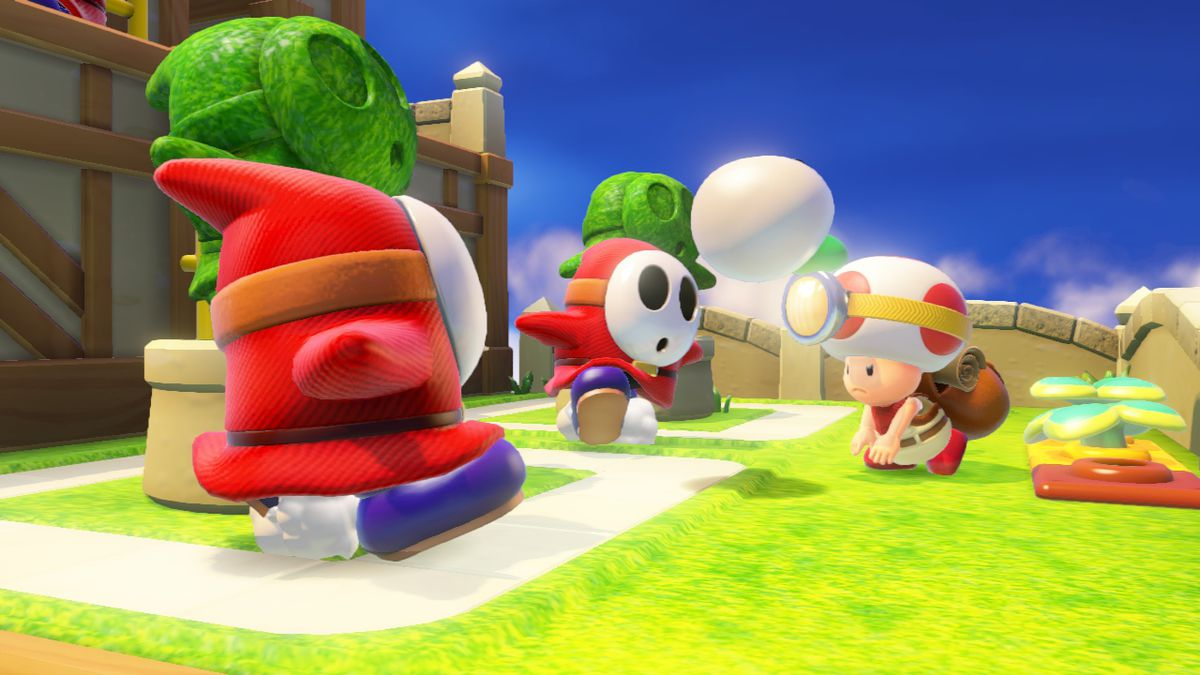 Captain Toad THrow