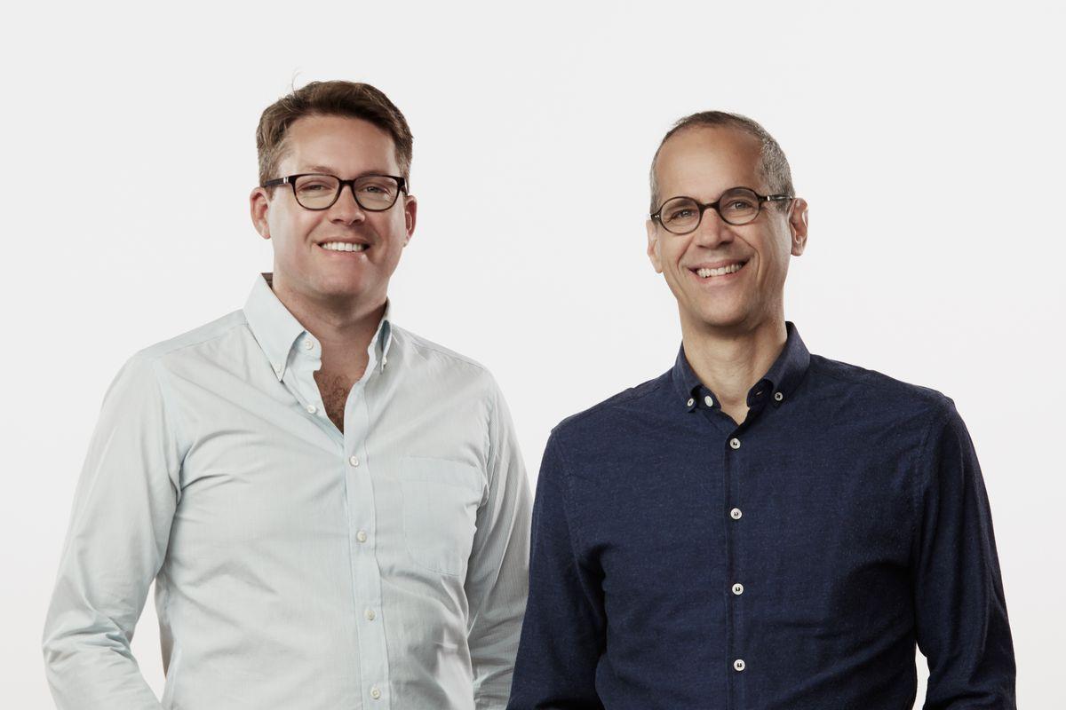 Gimlet founders Matt Lieber and Alex Blumberg.