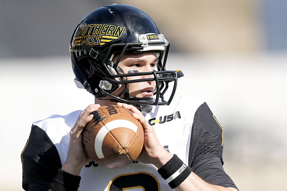 Nick Mullins of Southern Miss is one of 11 Underdogs seeking a Davey O'Brien Award