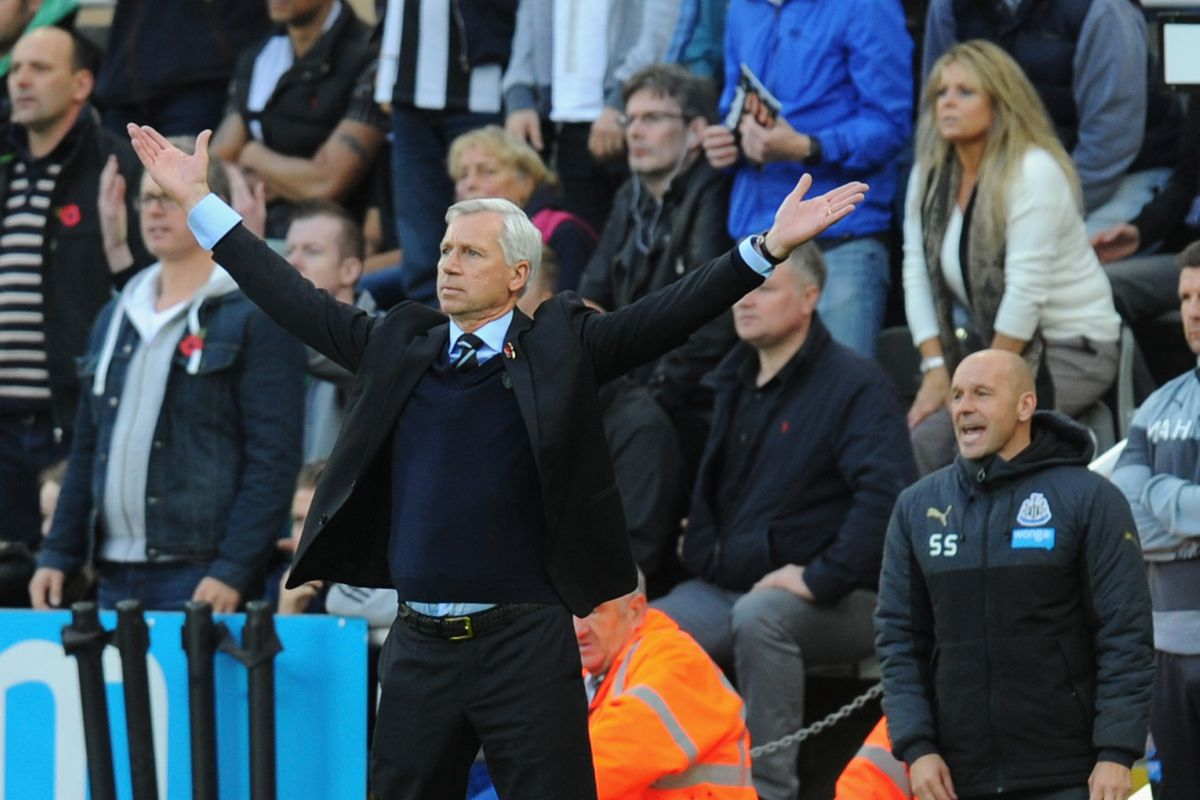 """I think you're taking this """"Back from the dead"""" bit to far, Mr. Pardew."""