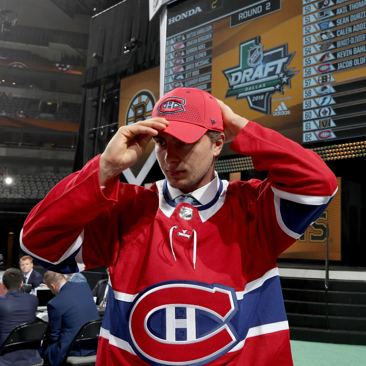best service 815ee 4a790 2018 Montreal Canadiens Top 25 Under 25   21 Jacob Olofsson - Eyes On The  Prize