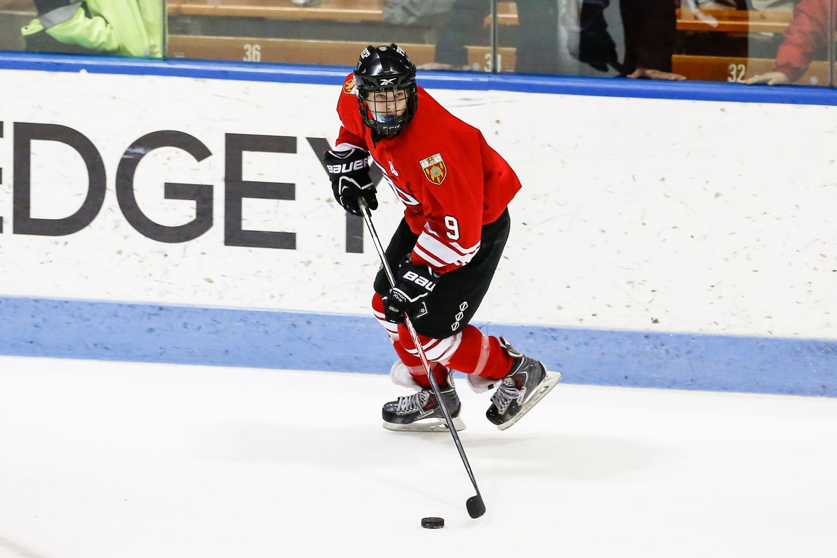 New Choate defenseman Billy Overby played for Fairfield Prep last season.