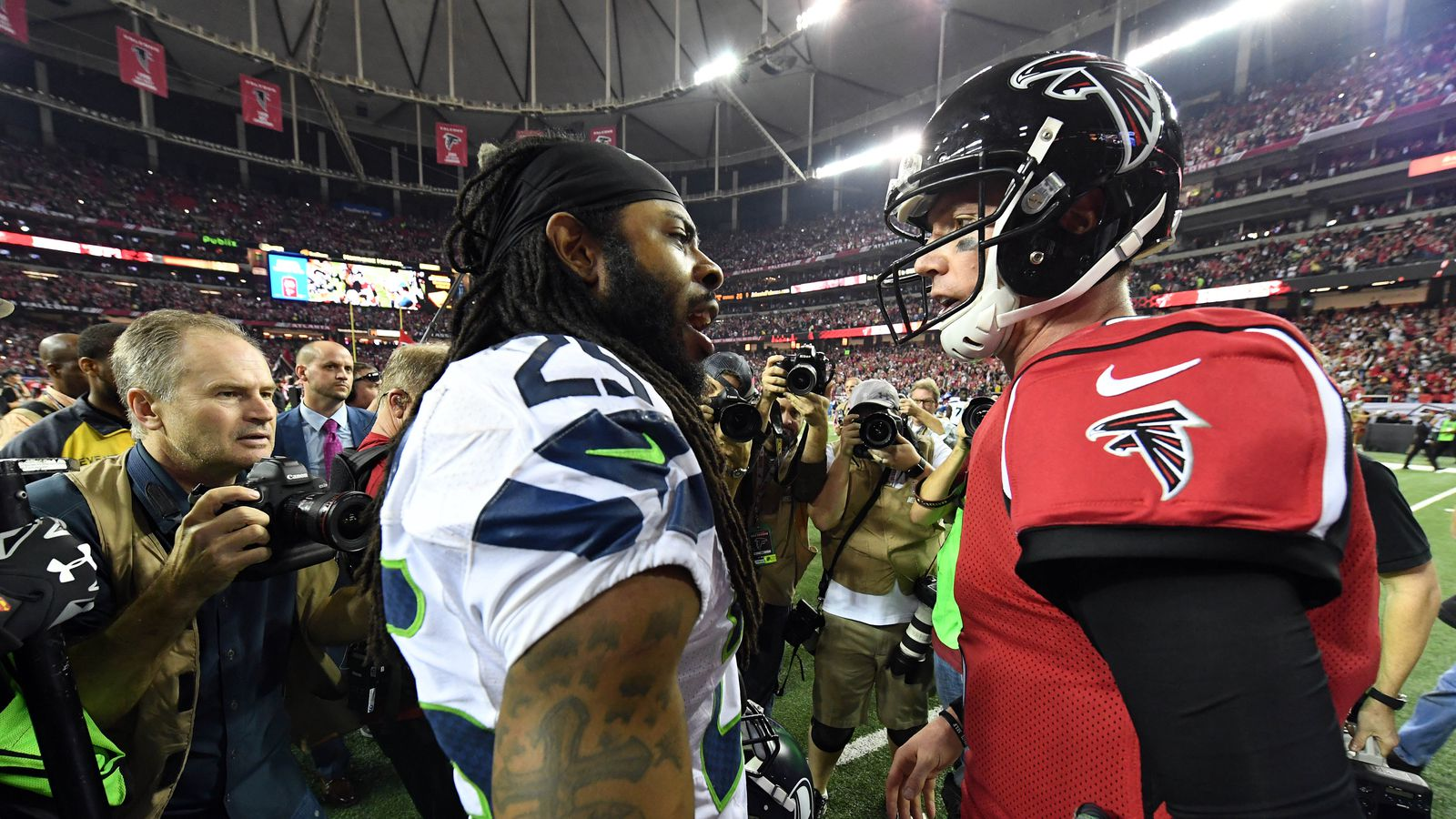 NFL Playoff Results 2017: Falcons defeat Seahawks to ...