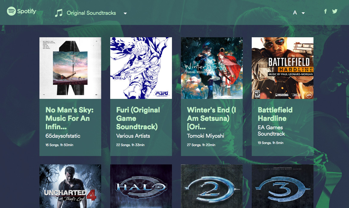 Spotify launches new portal dedicated to video game music - The Verge