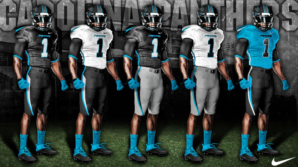 8fb506b6c It's time for the Carolina Panthers to upgrade their uniforms - Cat ...