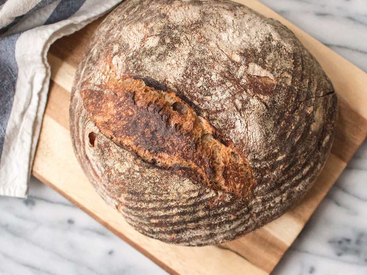 A loaf of bread at Pluma by Bluebird