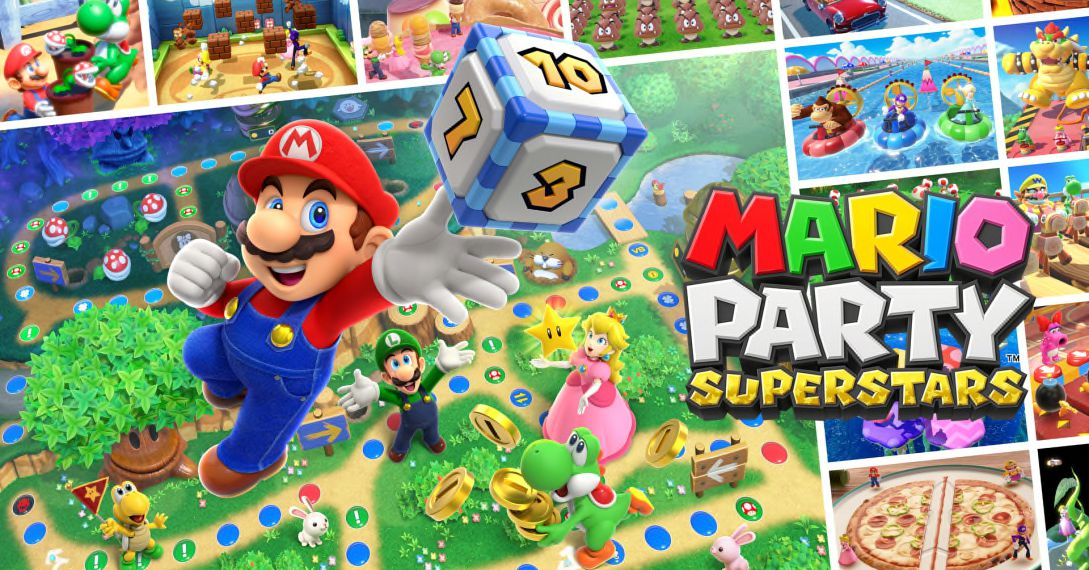 The Switch is getting new Mario Party and WarioWare games