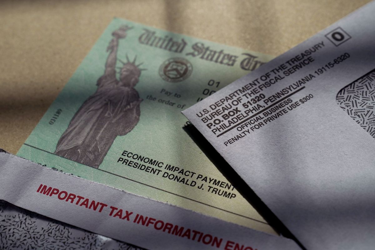 The IRS said more checks could come on March 24