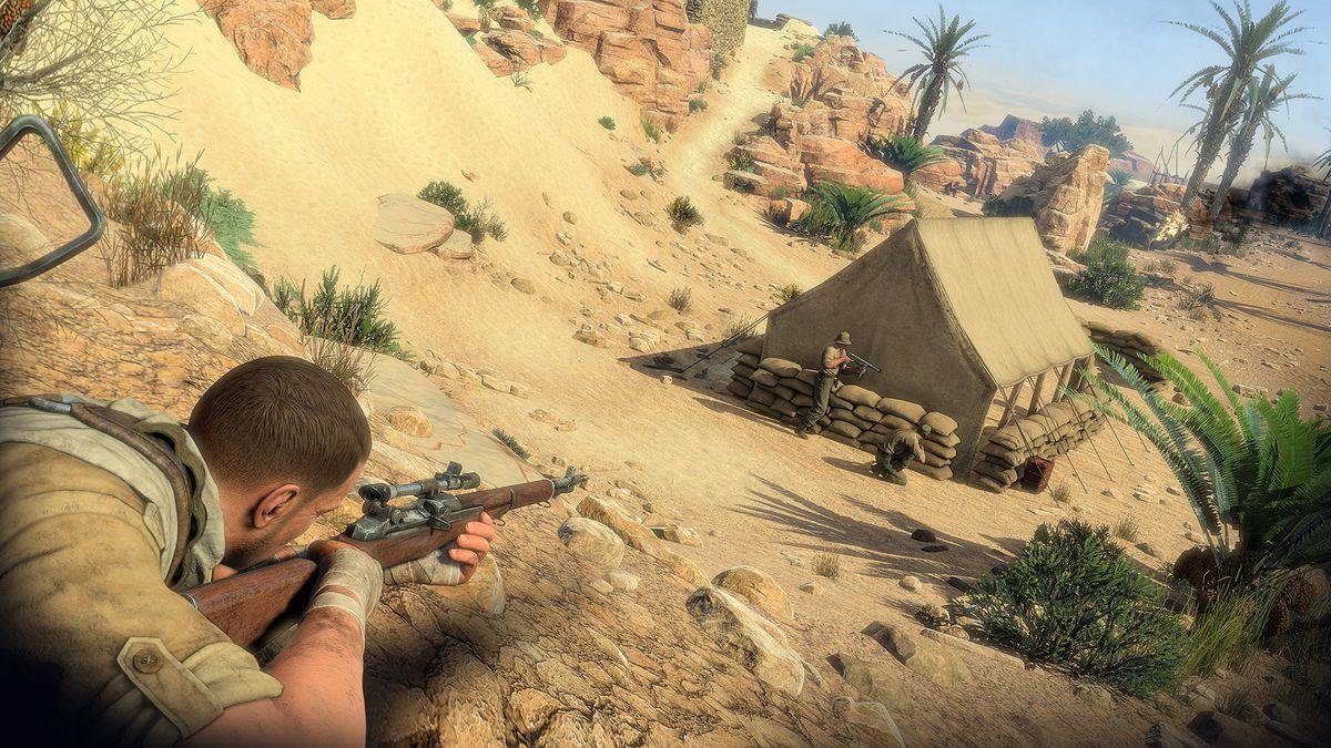 Sniper Elite 3 screenshots