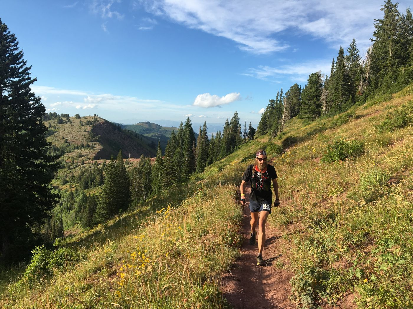 Going the distance: Utah runner/cyclist Ian Farris does the
