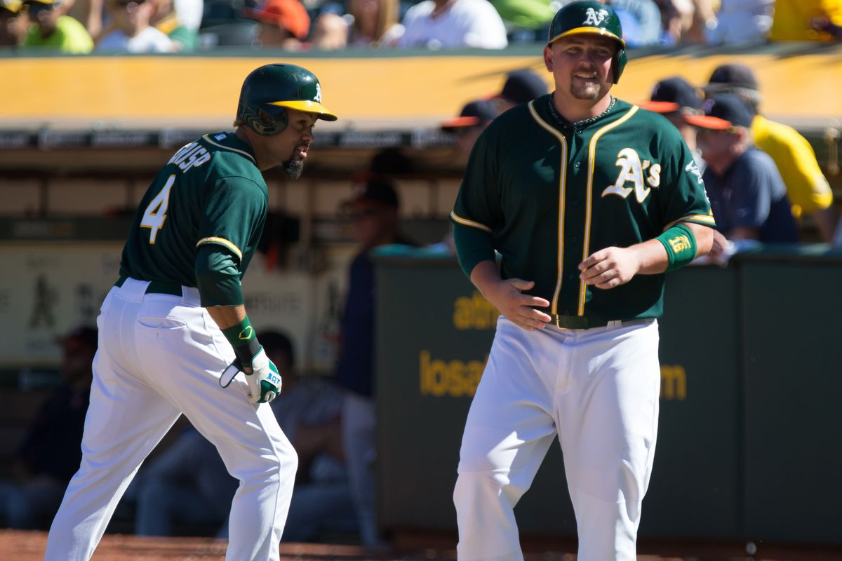 The two culprits behind the A's current payroll issues.