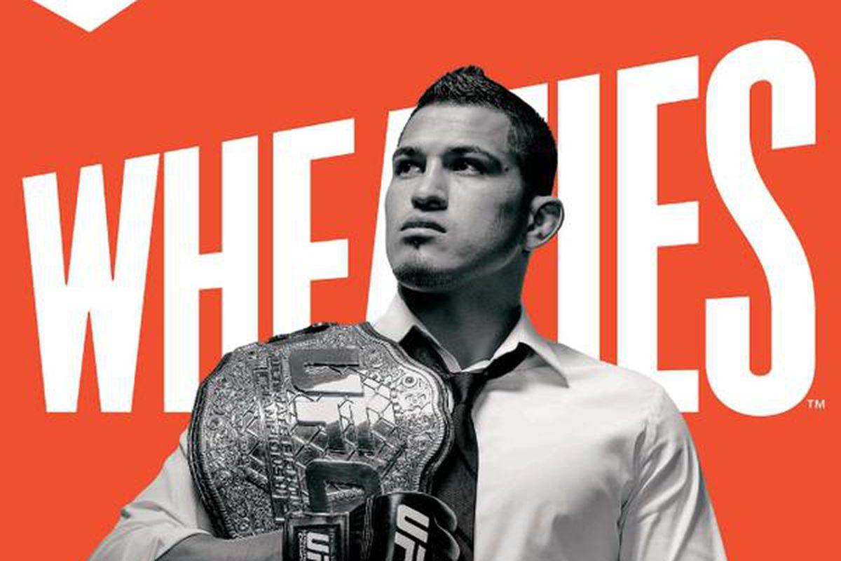 UFC Unveils Anthony Pettis Wheaties Box MMA Fighting