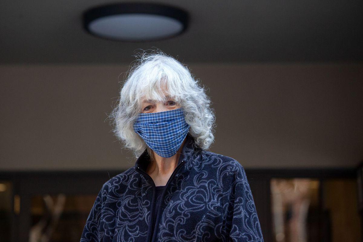 Upper East Side resident Carol Davis has been battling uterine cancer during the coronavirus outbreak, May 12, 2020.