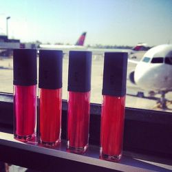 """The one thing that I ALWAYS have <i>a lot of</i> on me at all times: lip products! While I was at the airport waiting to get on my Delta flight, I realized that I had at least 4 of the new <b>Bite Beauty</b> <a href=""""http://bitebeauty.com/"""">Cashmere Lip</"""