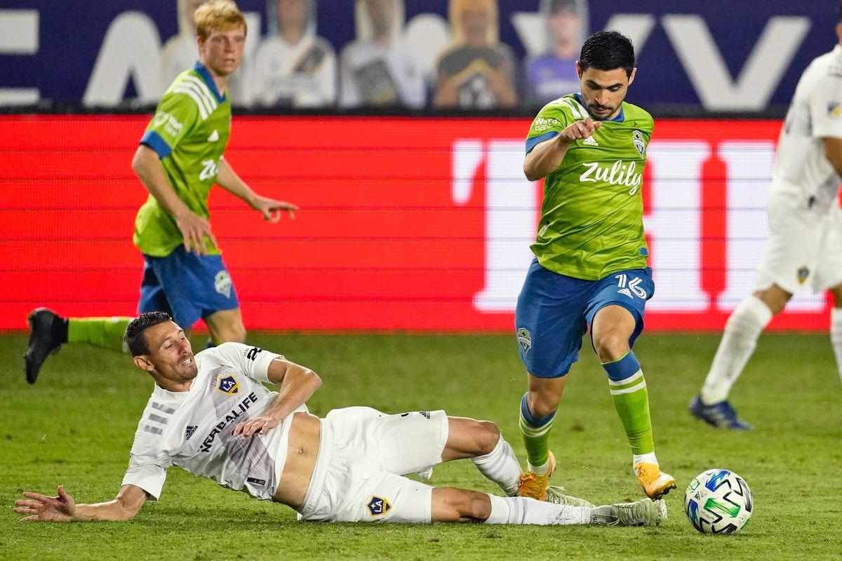 MLS: Seattle Sounders FC at LA Galaxy