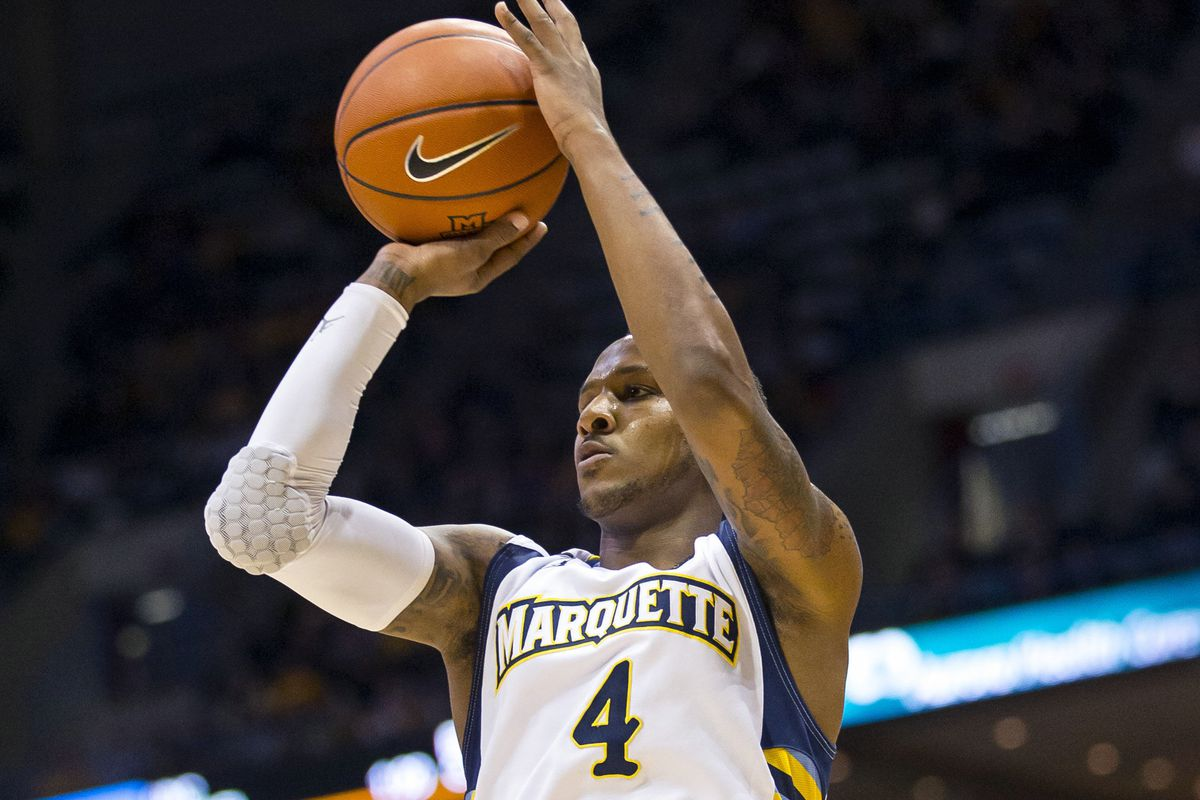 Todd Mayo leads Marquette in New Jersey as they go for back-to-back wins for the first time since mid-December.