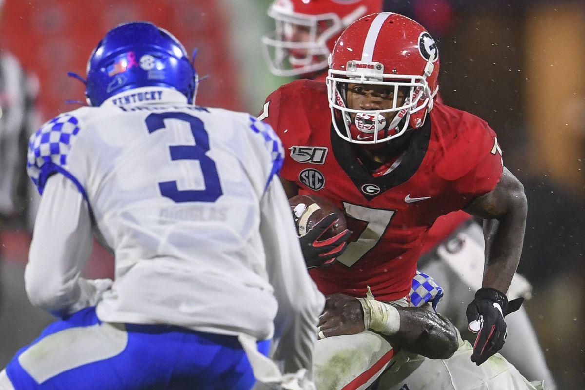 NCAA Football: Kentucky at Georgia
