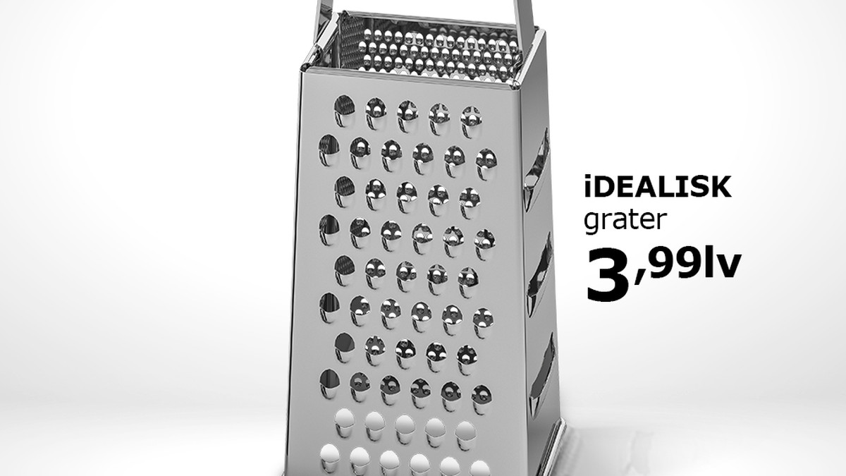 IKEA Just Roasted Apple's New Mac Pro Design With A Cheese Grater Ad