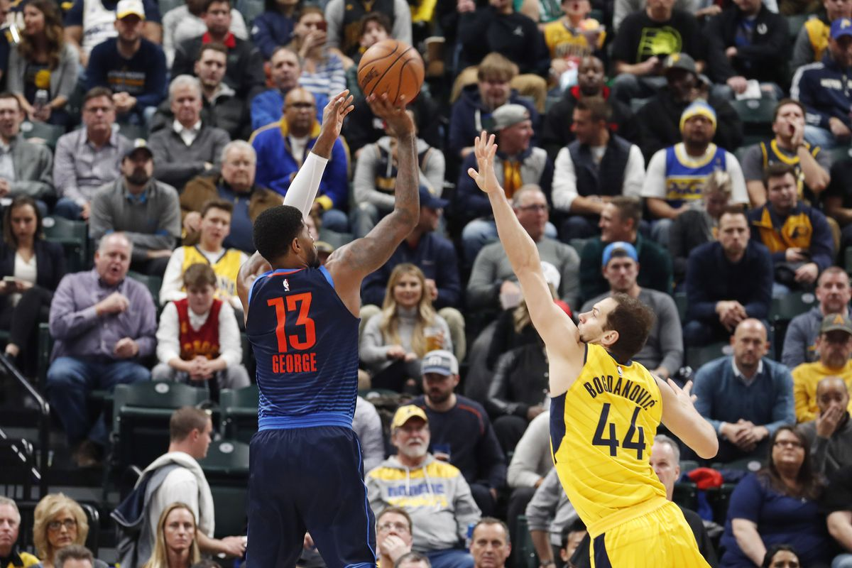 8dfd3bb806e7 Thunder vs Pacers preview and gamethread  3 things to watch as Paul George  returns to Indiana