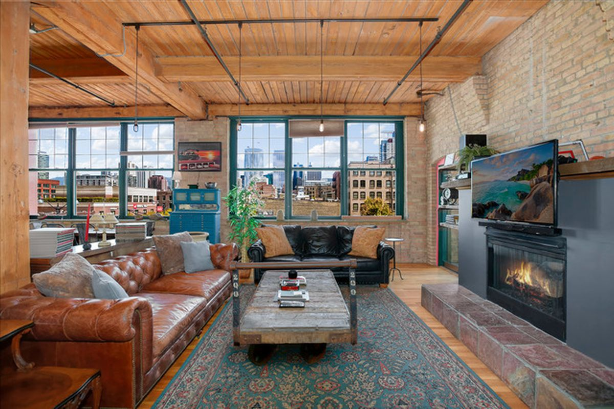 Spacious Sunny Industrial Loft With City Views Seeks