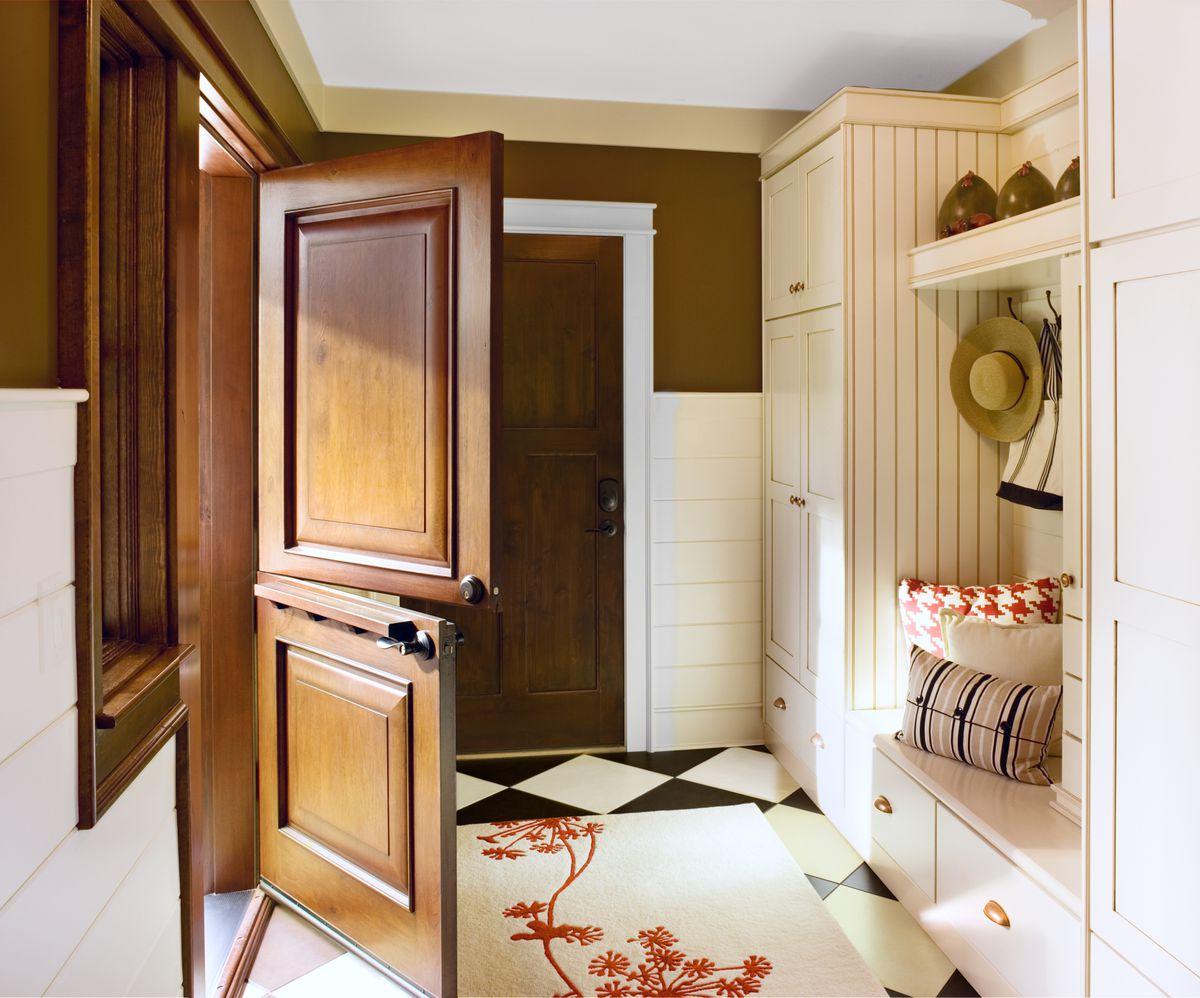 Two Panel Fiberglass Door