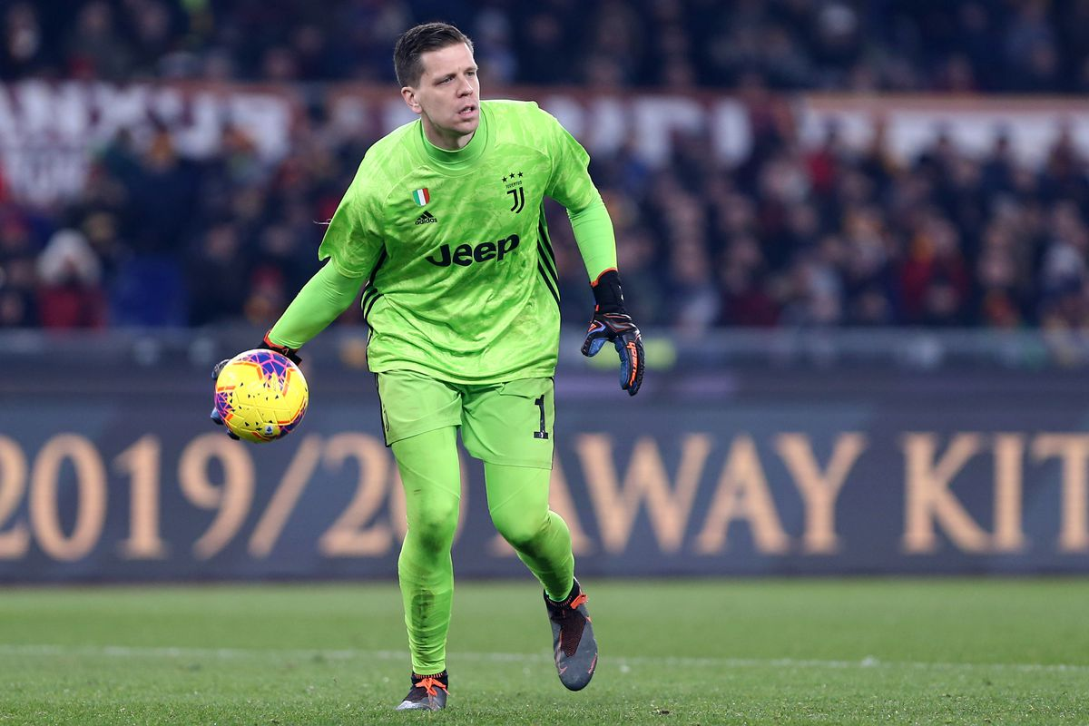 Wojciech Szczesny of Juventus FC in action during the...