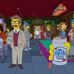 """<a href=""""http://eater.com/archives/2012/12/10/on-the-simpsons-hipsters-take-over-springfield.php"""">On the Simpsons, Hipsters Take Over Springfield With Artisanal Donuts, Farmers Markets, and Food Carts</a>"""
