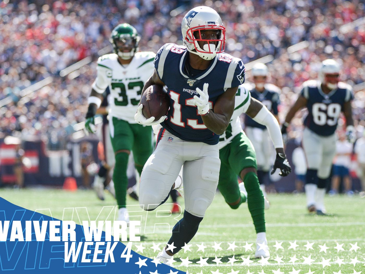 promo code f9b2f 7548a Top fantasy football waiver wire adds for Week 4 - Fake Teams