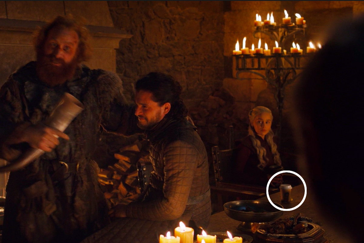 Game of Thrones' Starbucks coffee cup mistake becomes a viral