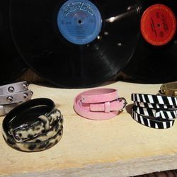 Nope, not wrap bracelets -- they're kids' belts!