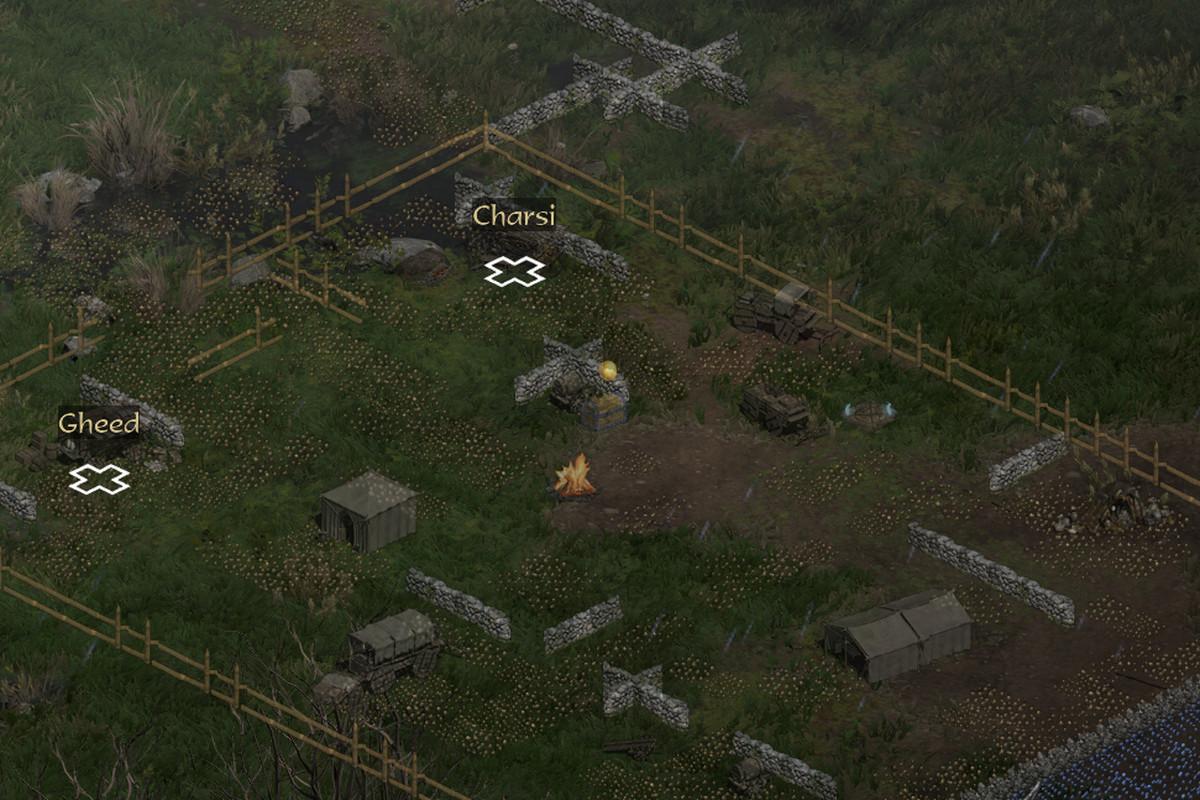 Automap in Diablo 2:Resurrected