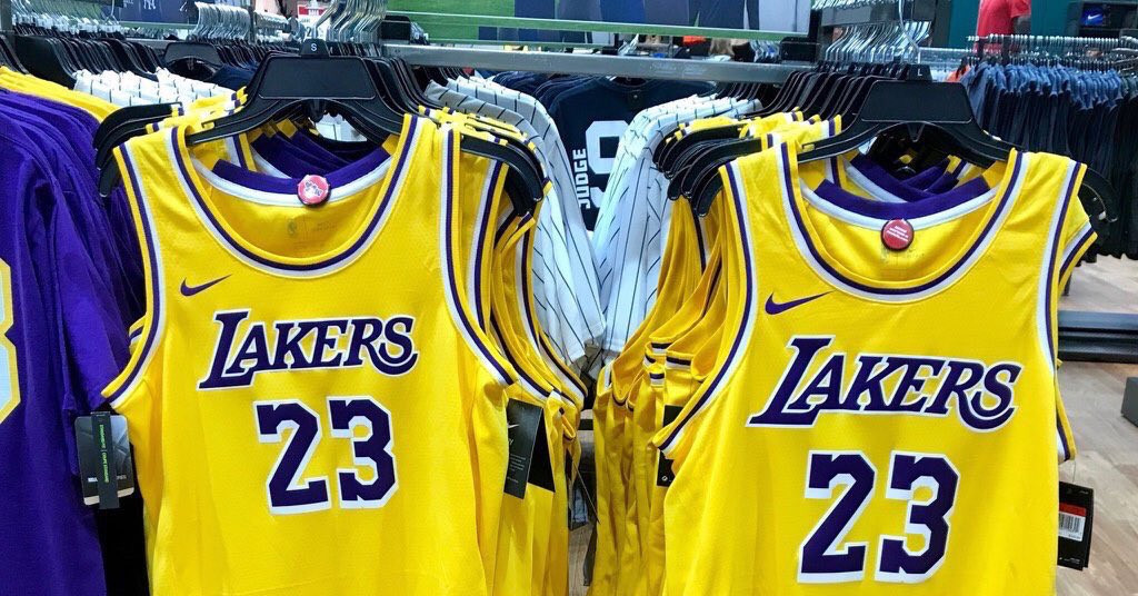 The New Lakers Jerseys Have Leaked And Fans Are Not Happy