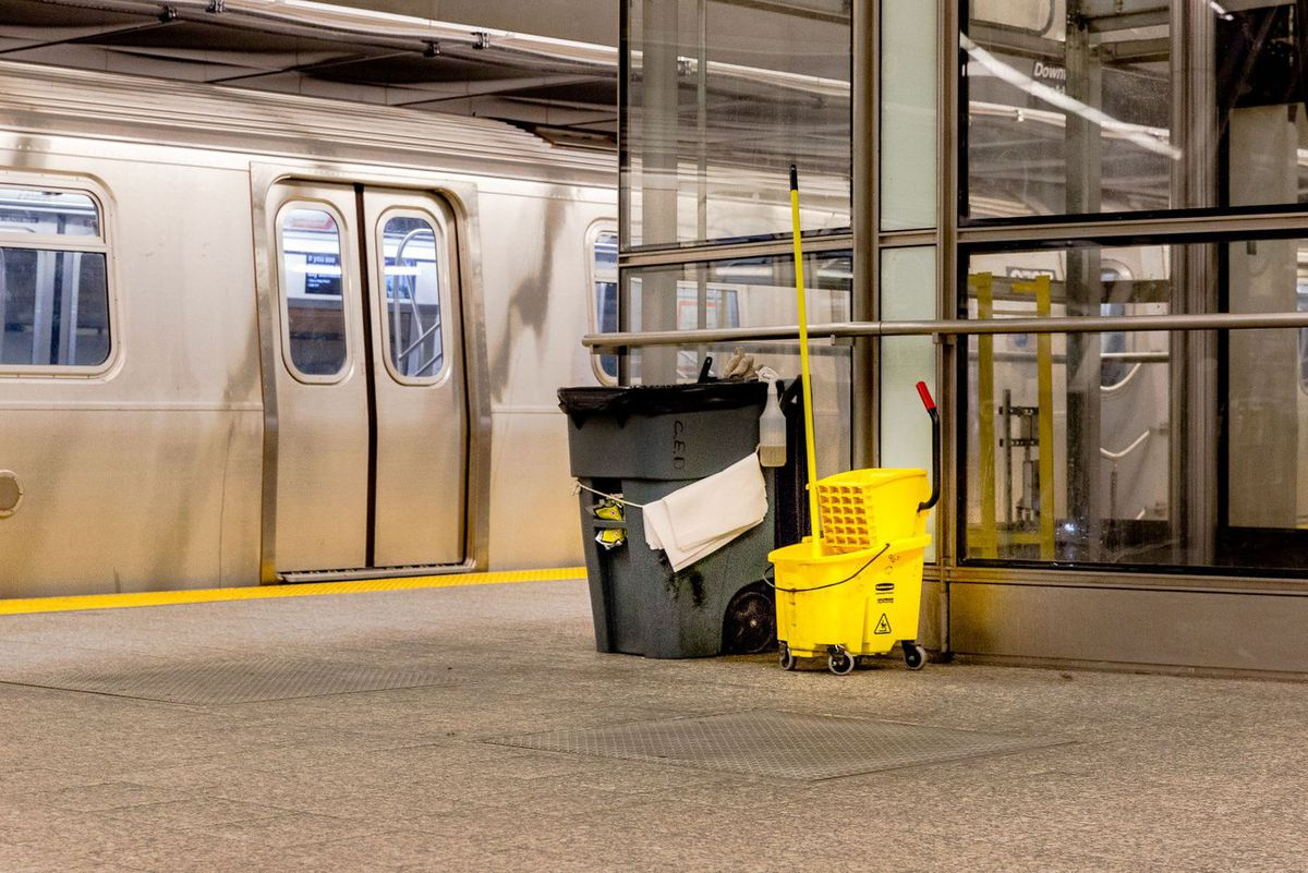 Subway Cleaning Supplies